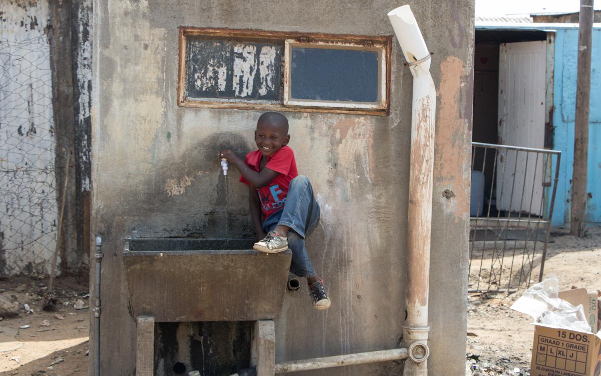 Kinder Wasser Soweto