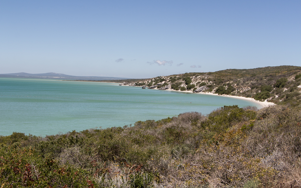 Kraalbai einsamer Strand Südafrika Geheimtipp