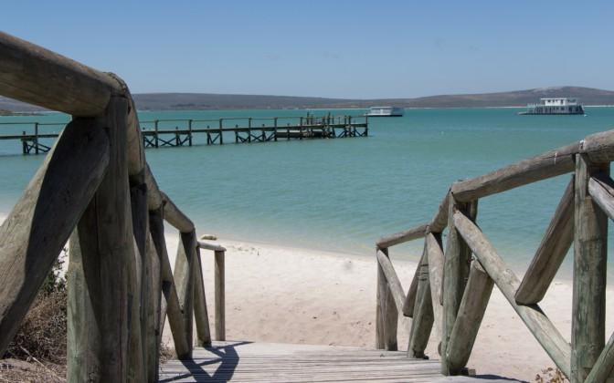 Kraalbai Langebaan Lagune Westerncape