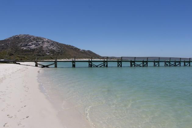 Kraalbai Südafrika Langebaan Lagune