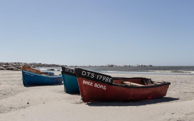 Paternoster Western Cape Südafrika Fischerboote