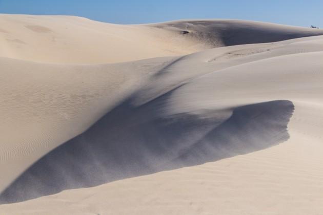 Wind Dünen Südafrika West Coast