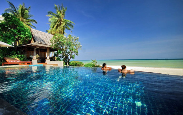 Koh Samui Beachvillage Pool Beach