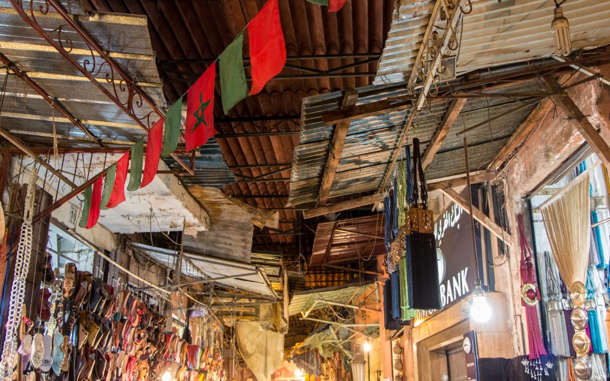 Djemaa el-Fna, das Herz von Marrakesch und Nordafrikas bekanntester Platz 4