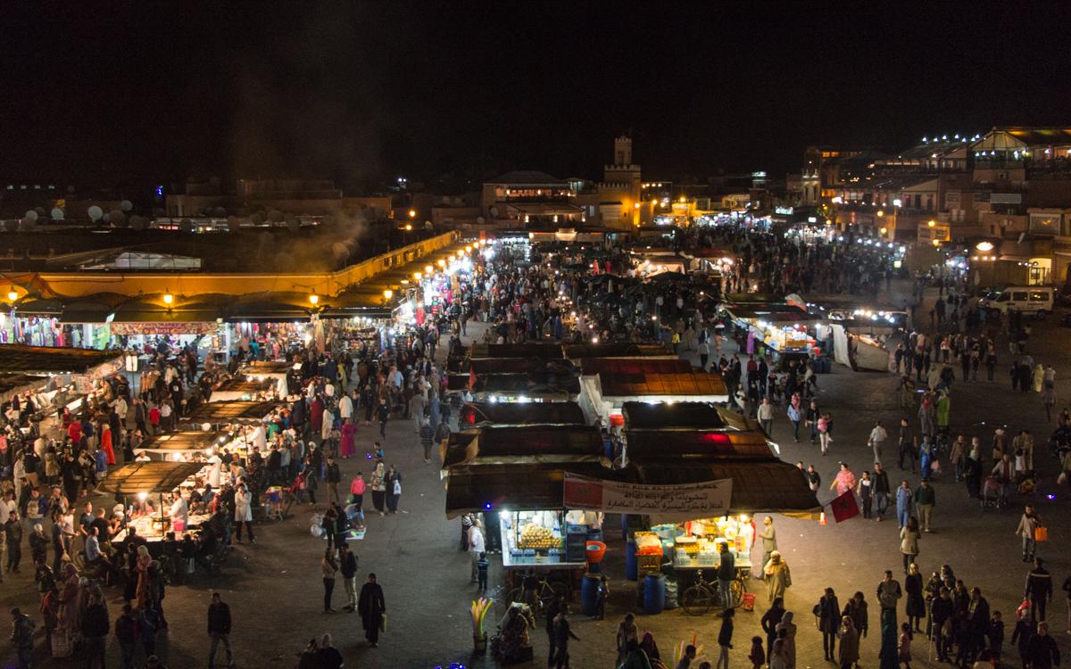 marrakesch djemma el fna-49
