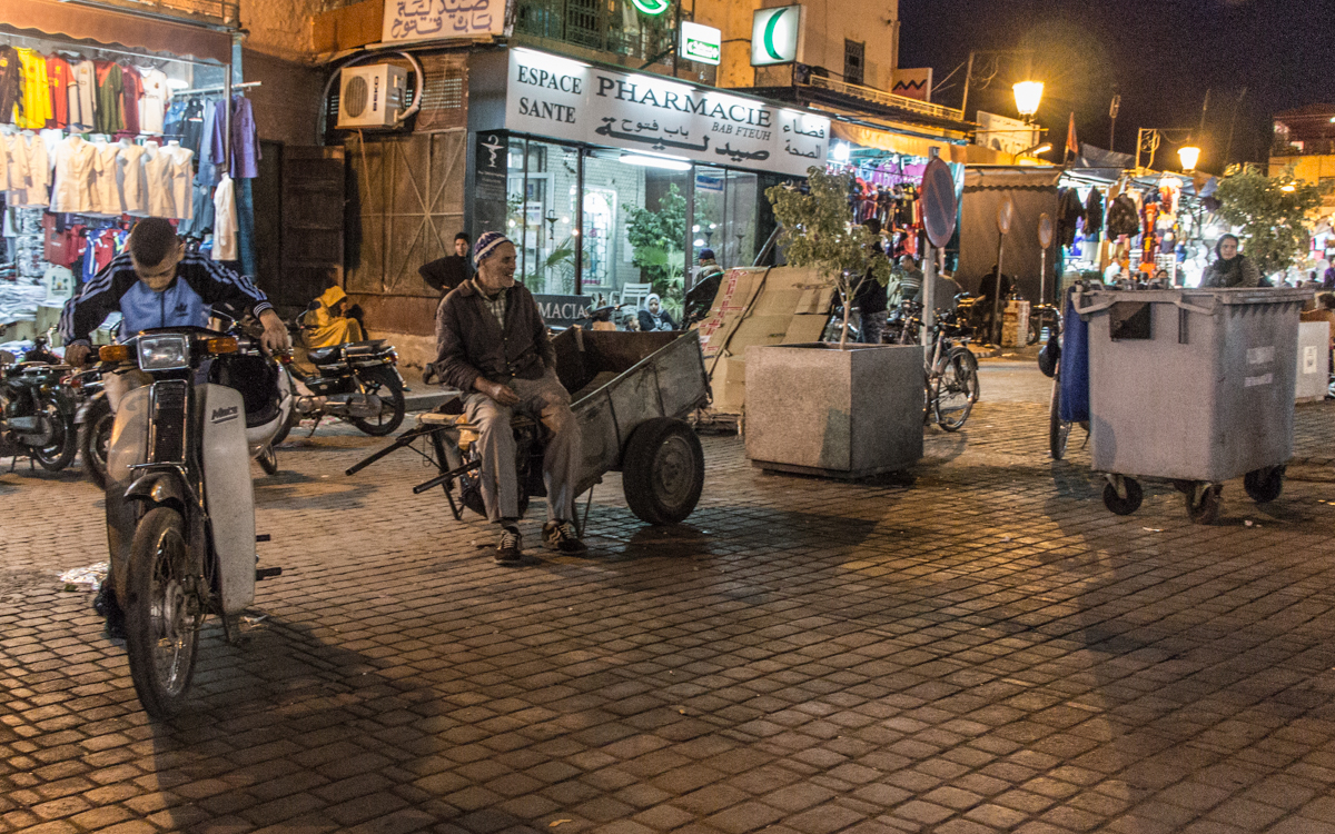 marrakesch djemma el fna-impressionen