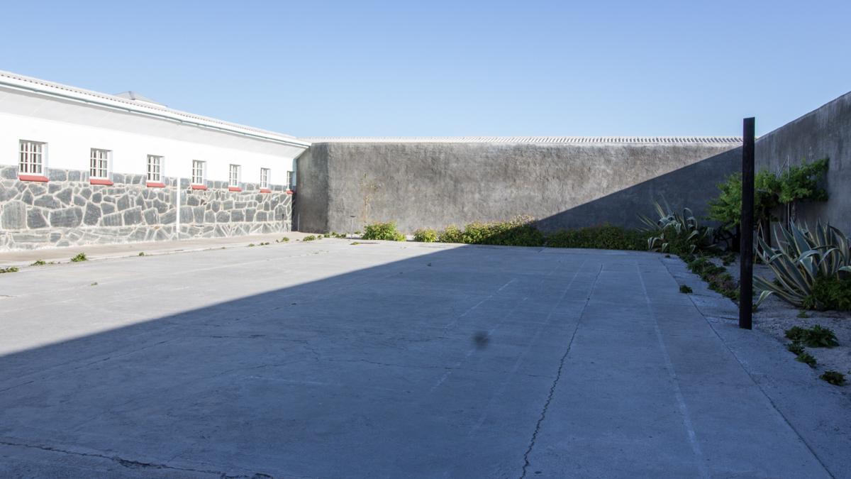 Robben Island Innenhof