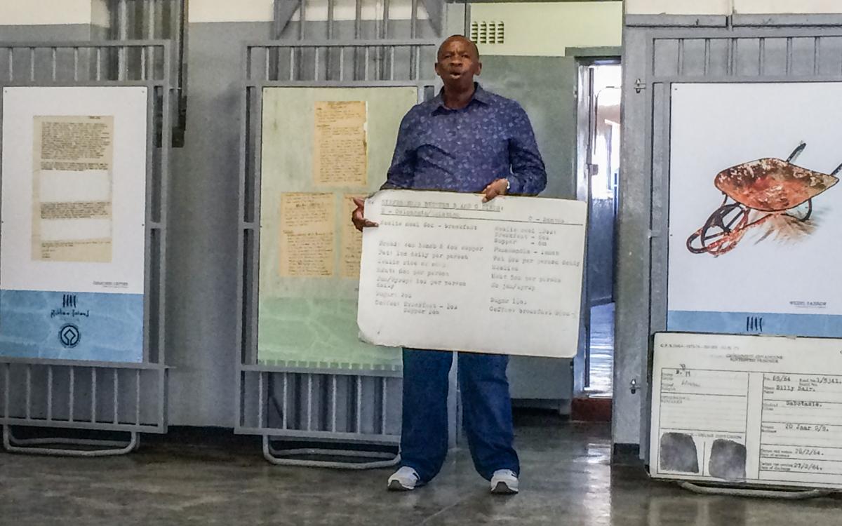 Robben Island Tour: Sparks ehemaliger Insasse