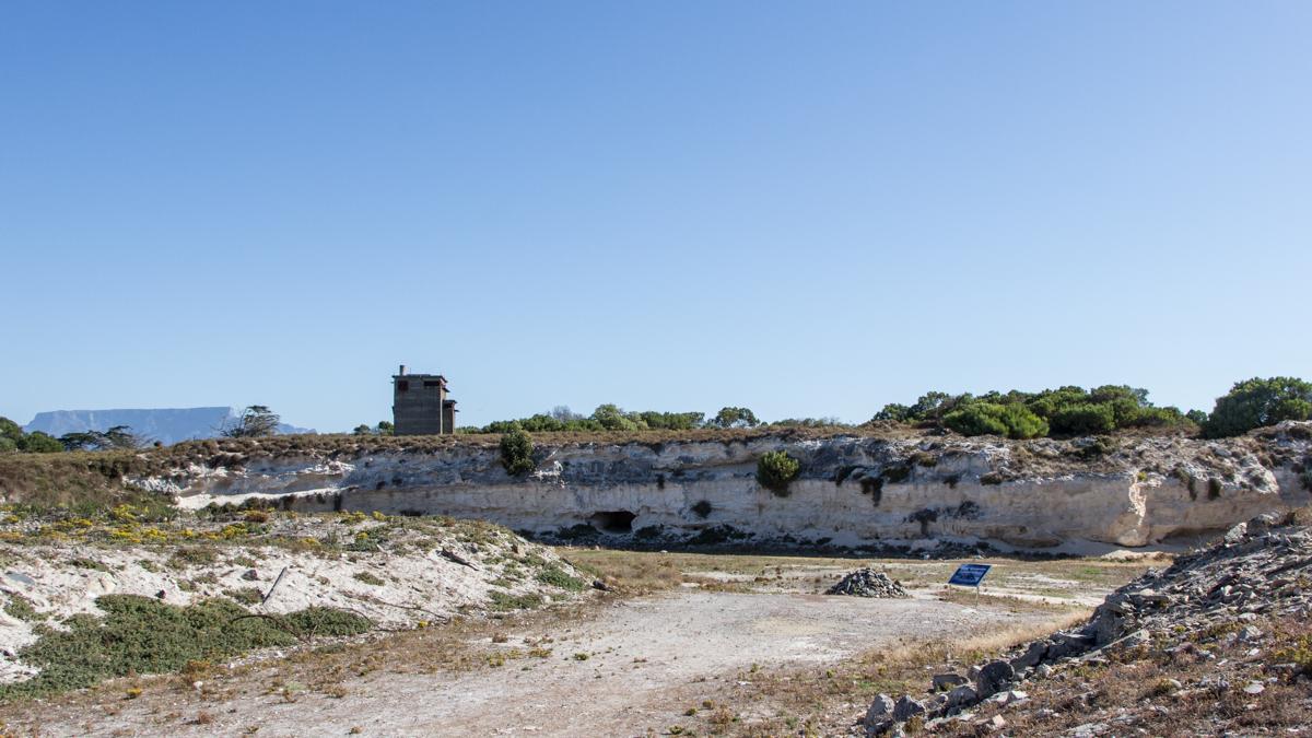Robben Island Tour: Kalksteinbruch Robben Island