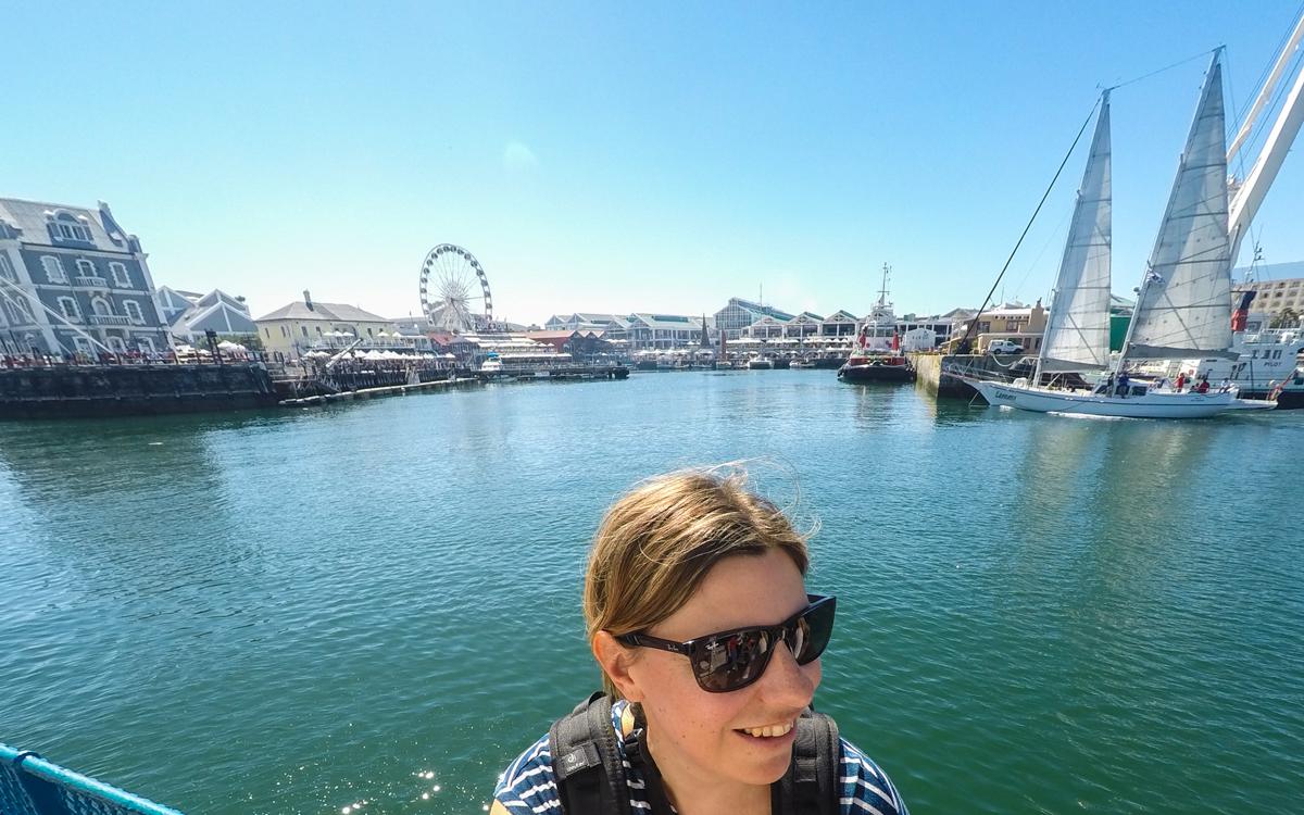 Robben Island Tour: Auf dem Schiff nach Robben Island