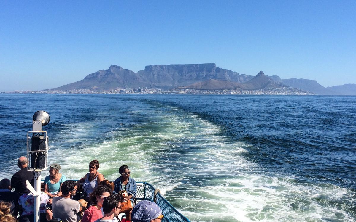 Robben Island Tour: Robben Island Anfahrt