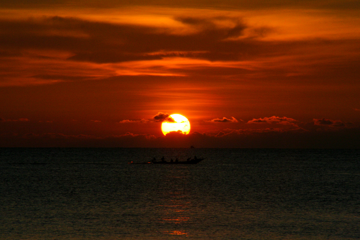 Sonnenuntergang Koh Tao Thailand