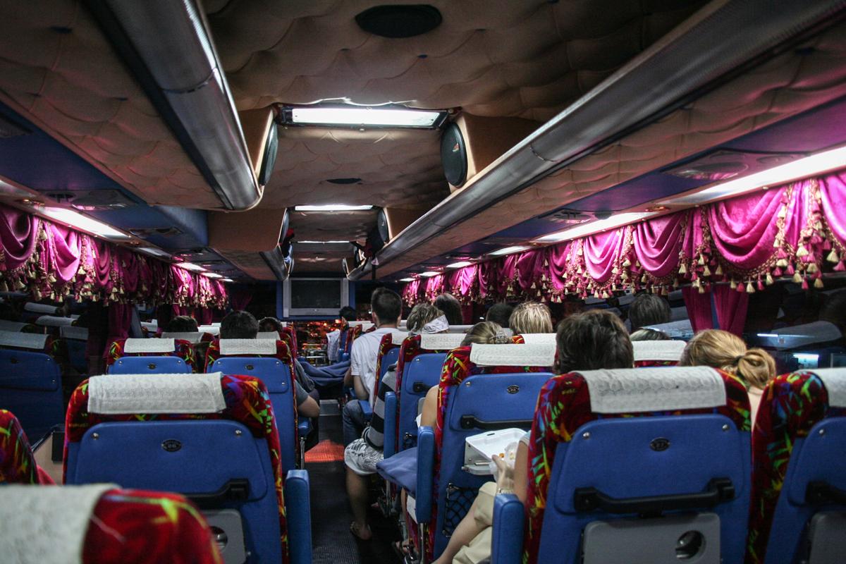 Inselhopping Thailand: VIP Bus Bangkok Koh Samui