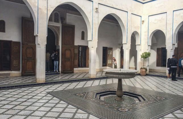 Bahia Palast Marrakesch Sehenswürdikgeiten