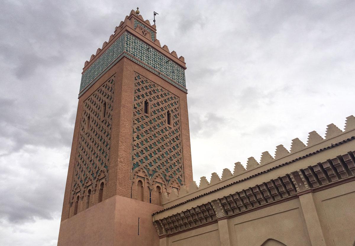 Marrakesch Sehenswürdigkeiten Koutoubia Moschee