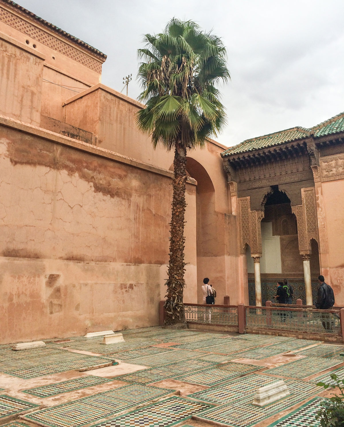 Marrakesch Sehenswürdikgeiten Saadier Gräber Marrakesch