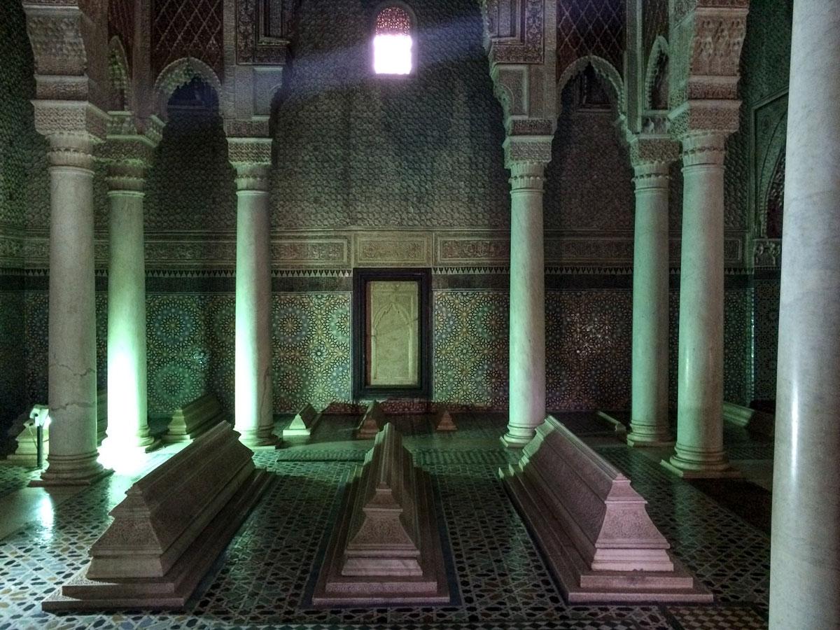 Marrakesch Sehenswürdikgeiten Saadier Gräber
