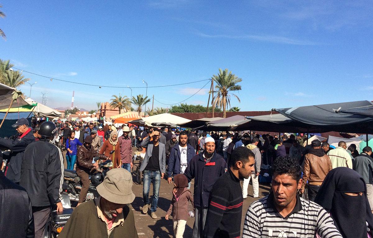 Marrakesch Sehenswürdigkeiten Reisetipps El Khemis Marrakesch