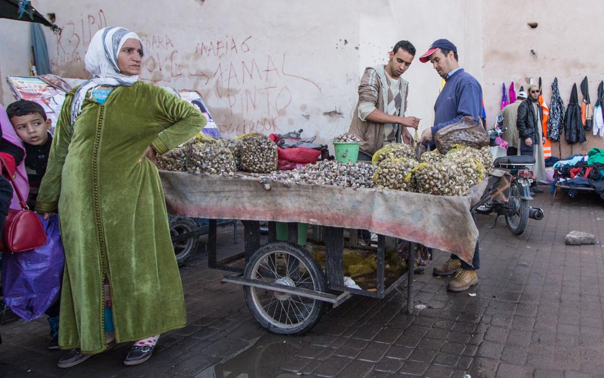 Marrakesch Sehenswürdigkeiten Reisetipps Souk el Khemis Marrakesch