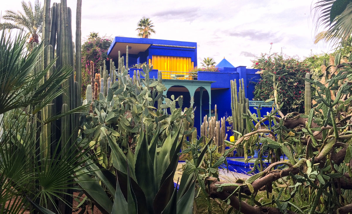 Marrakesch Sehenswürdikgeiten Jardin Majorelle