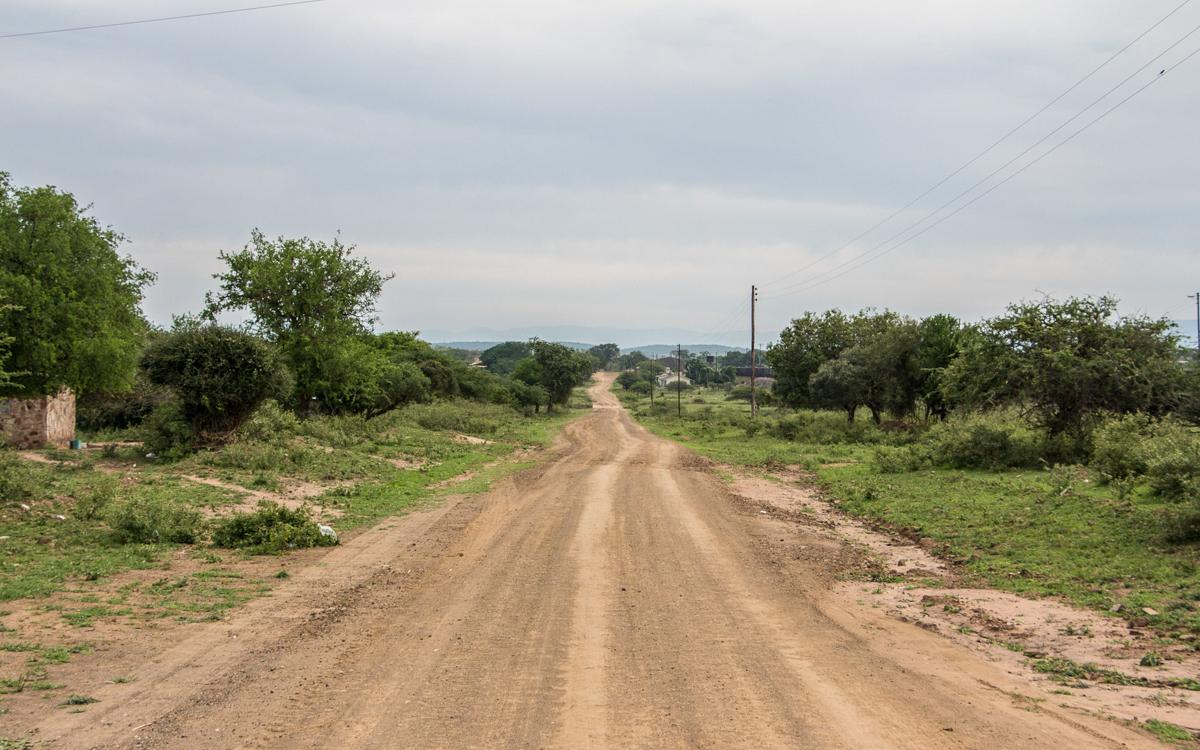 Straße im Mkhaya Game Reserve