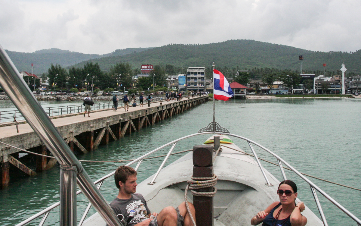 Bangkok - Koh Samui: Fähre in Surat Thani - Koh Samui