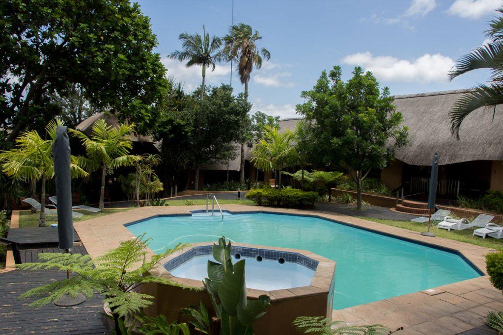 Pool Amazulu Lodge St. Lucia (Südafrika)