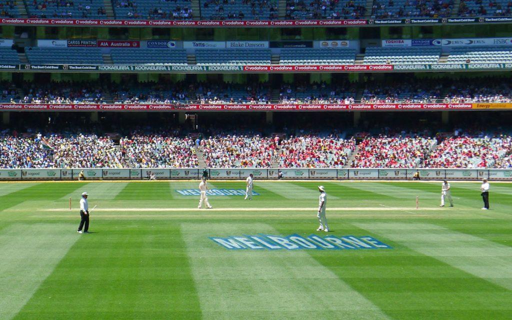Cricket Stadion in Melbourne