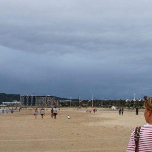Wetter Durban Südafrika am Strand