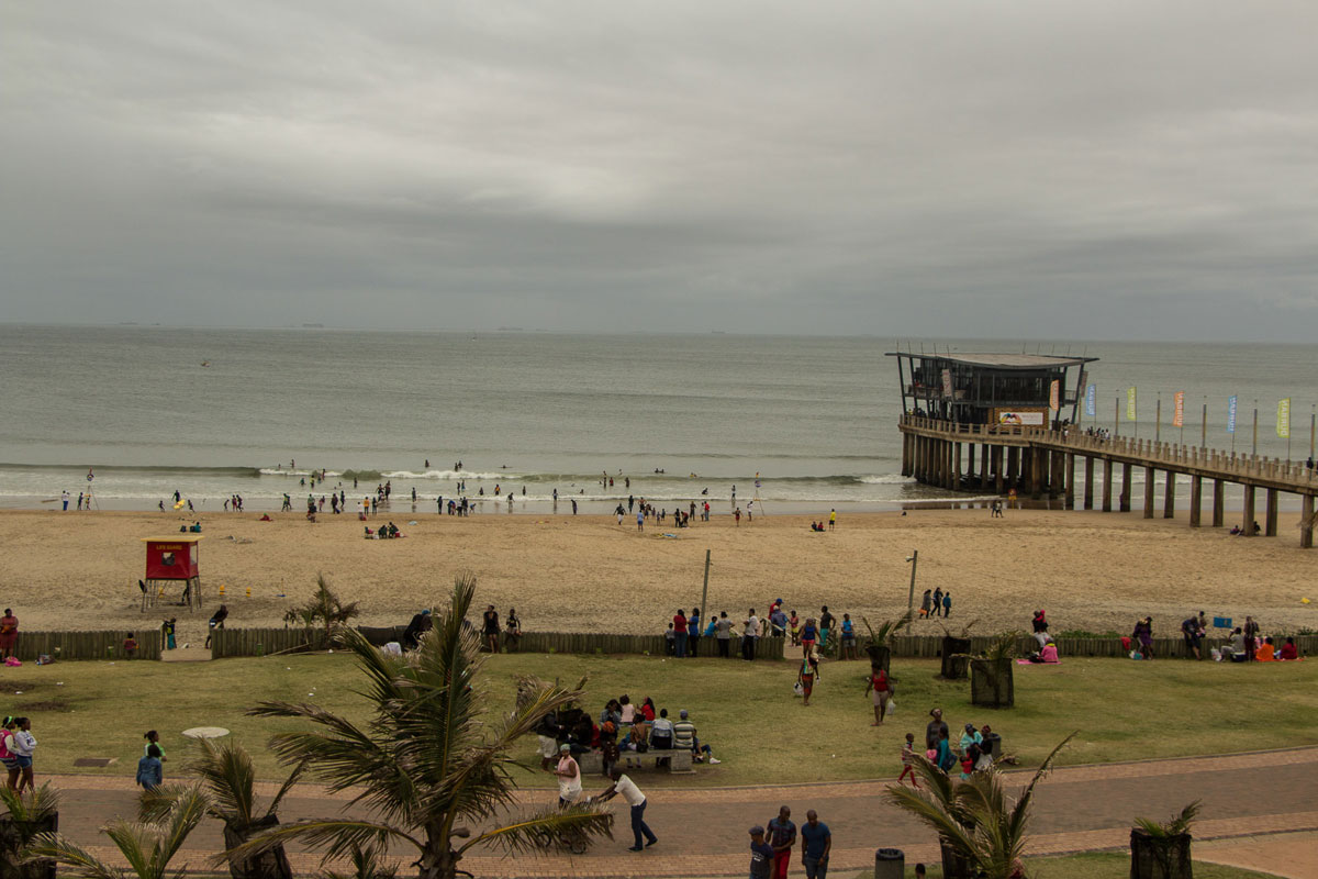 Durban Beach Südafrika