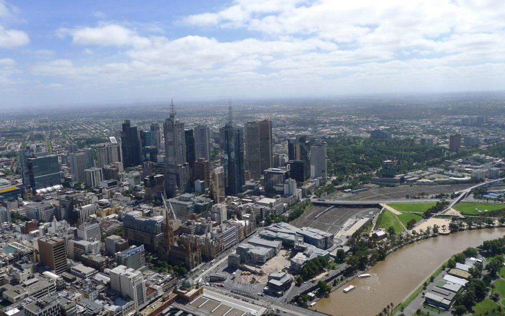 Aussichtsplattform Eureka Tower Melbourne