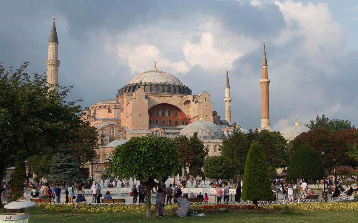 Hagia Sophia Top Sehenswürdigkeit Istanbul