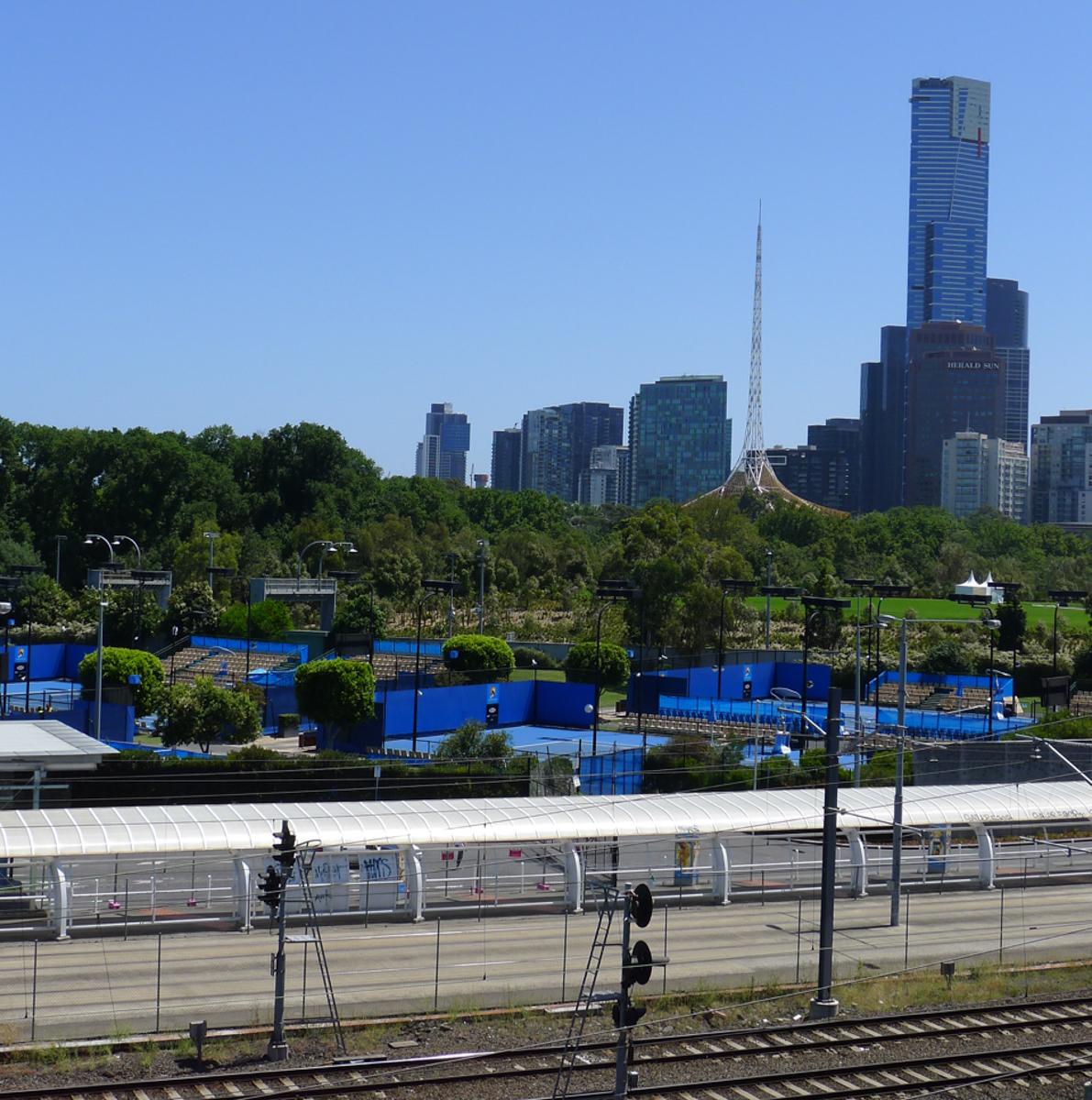 Melbourne Sehenswürdigkeiten Australian Open Tennis