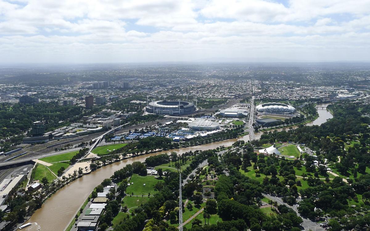 Melbourne Sehenswürdigkeiten Insidertipps Panoramablick