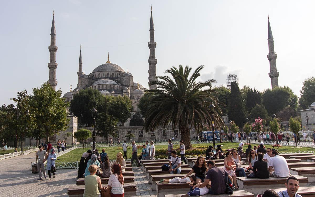 Istanbul Top 10 Sehenswürdigkeiten Blaue Moschee