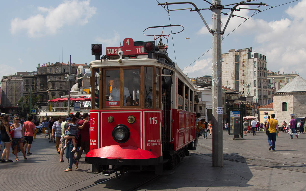Füniküler Straßenbahn Istanbul