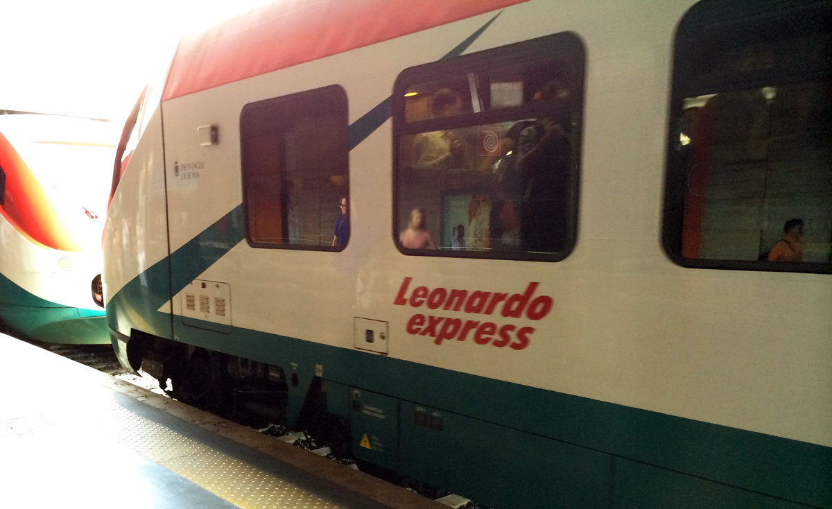Rom Flughafen Leonardo Express