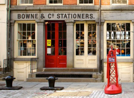 New York Shopping Tipps: Bowne und Co. Stationers NYC