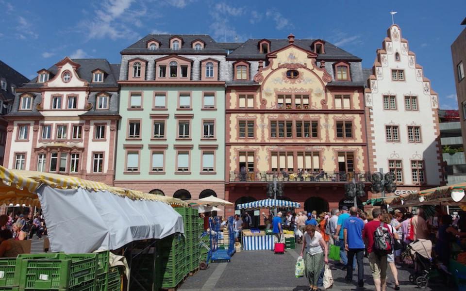 Wochenmarkt in Mainz
