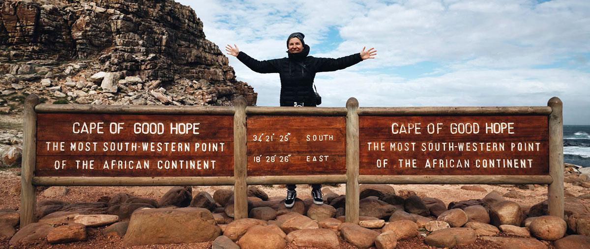 Kap der Guten Hoffnung Kapstadt im Winter