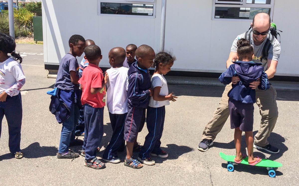 Kapstadt Sehenswürdigkeiten Besuch eines Townships Vorschule Kinder