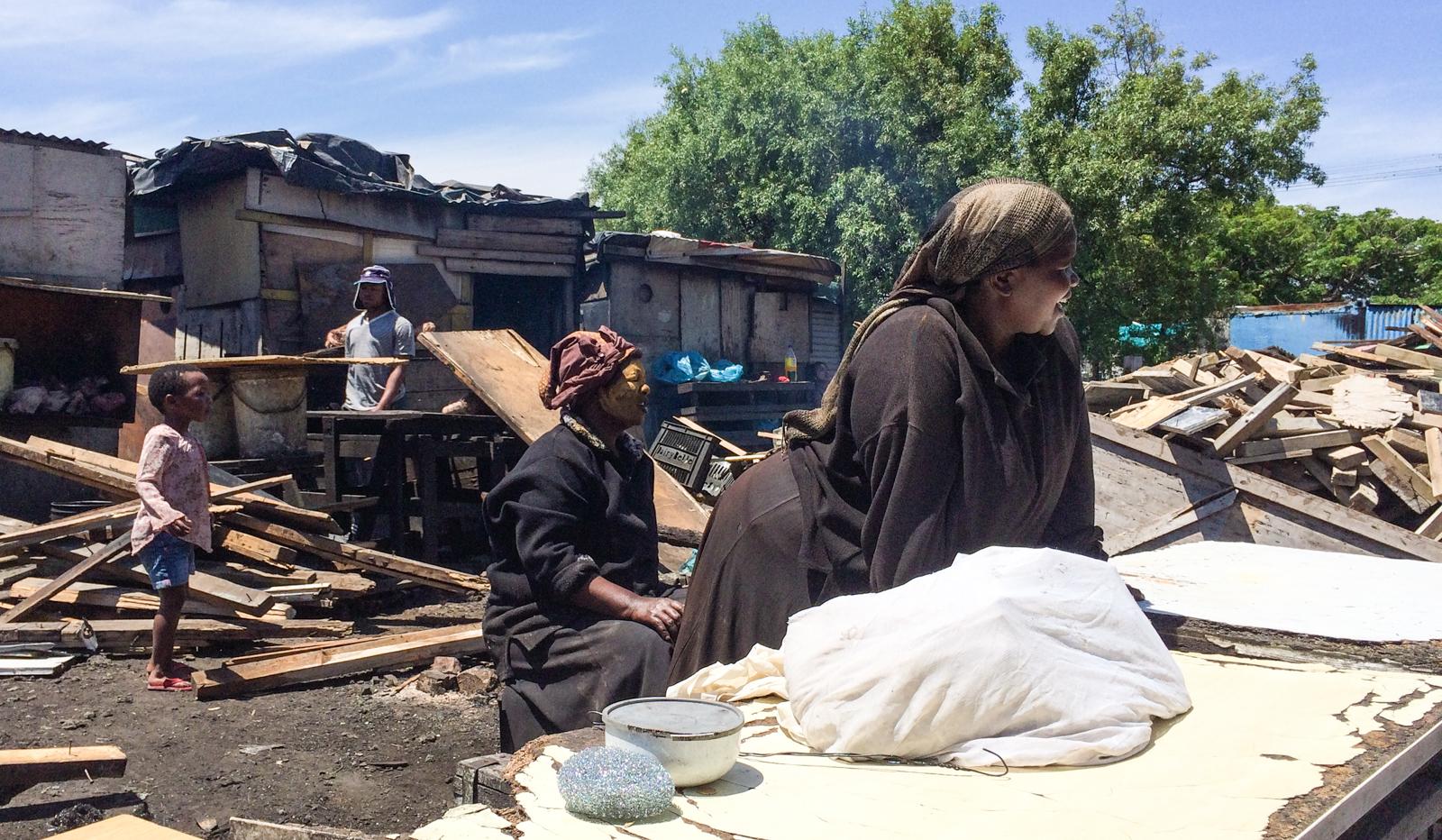 Kapstadt Sehenswürdigkeiten Langa Township Schafsköpfe Gehirn essen