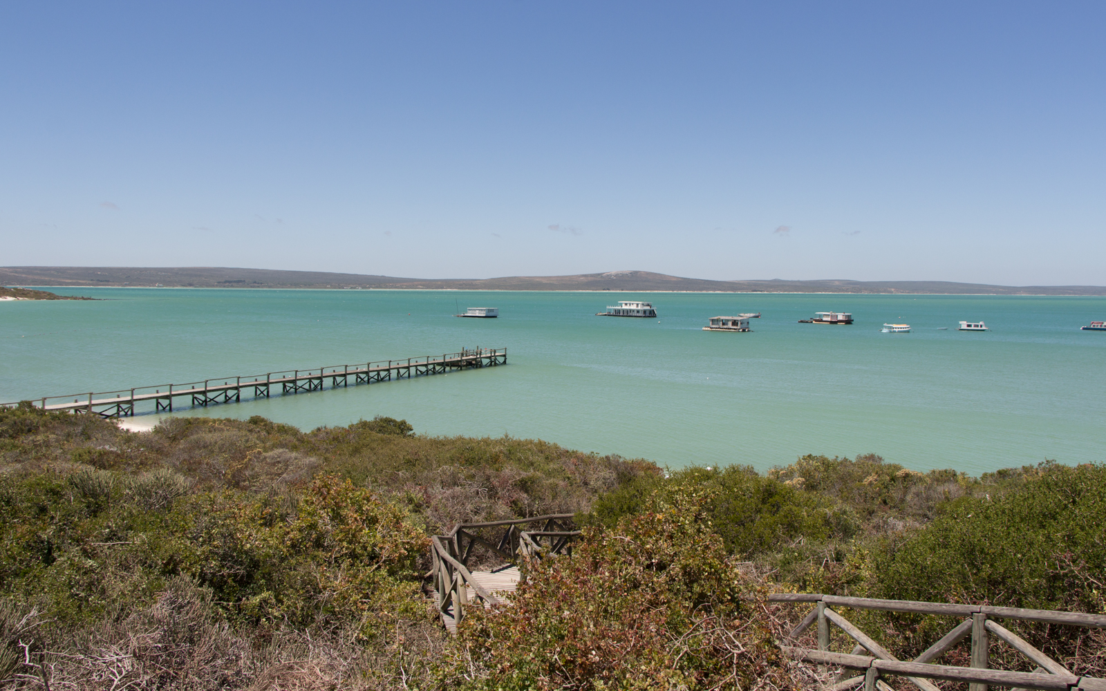 Langebaan Kraalbai Lagune Südafrika