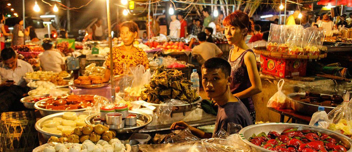 Myanmar Streetfood Kosten