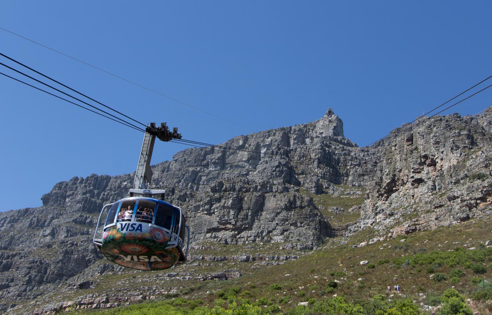 Kapstadt Sehenswürdigkeiten Seilbahn Tafelberg