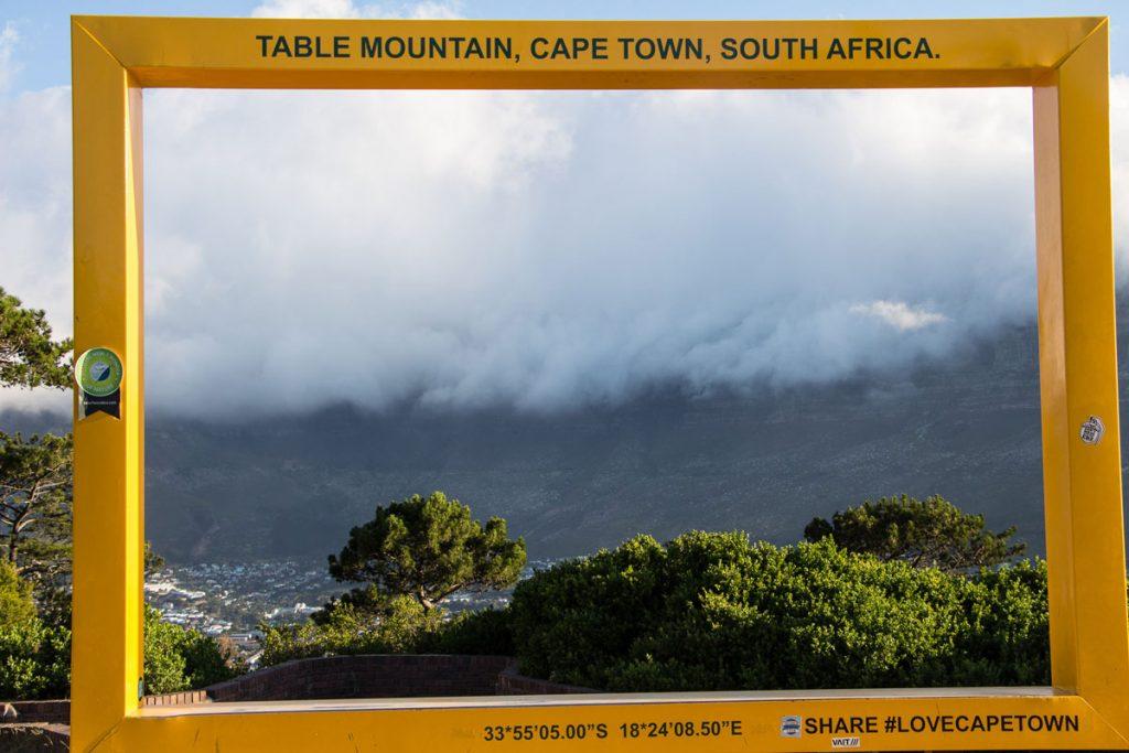 Aussicht Signal Hill Kapstadt