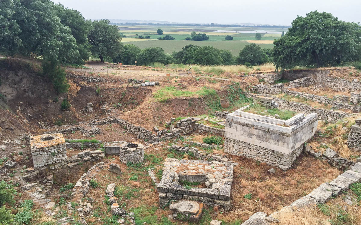 Ausgrabungen in Troja