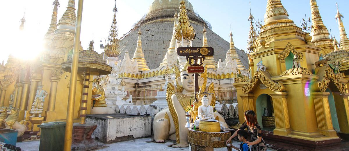 Myanmar Reisezeit ideales Klima