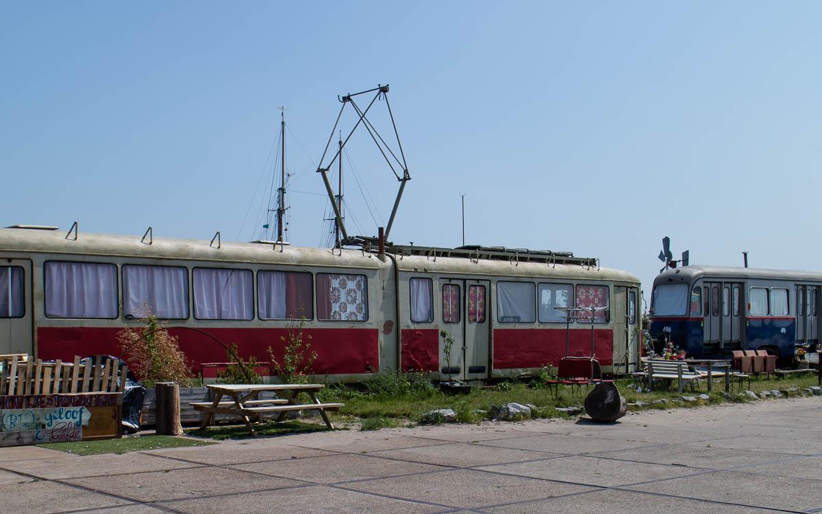 Amsterdam Reisetipp: Alte Straßenbahnen