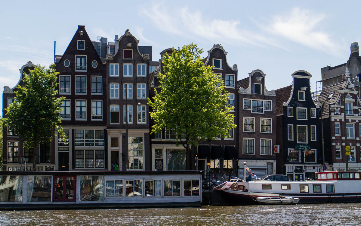 Amsterdam Sehenswürdigkeiten Kaufmannshäuser an den Grachten